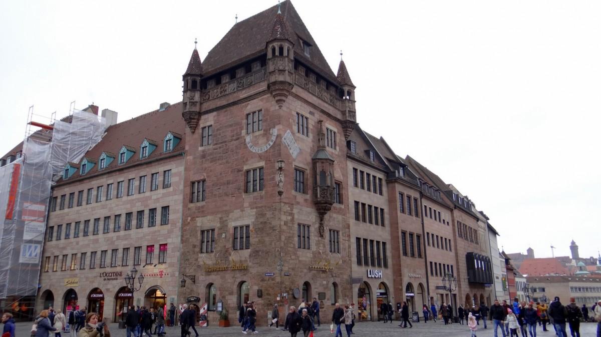 Zdjęcia: Nürnberg, Bayern, Obrazki z centrum I, NIEMCY