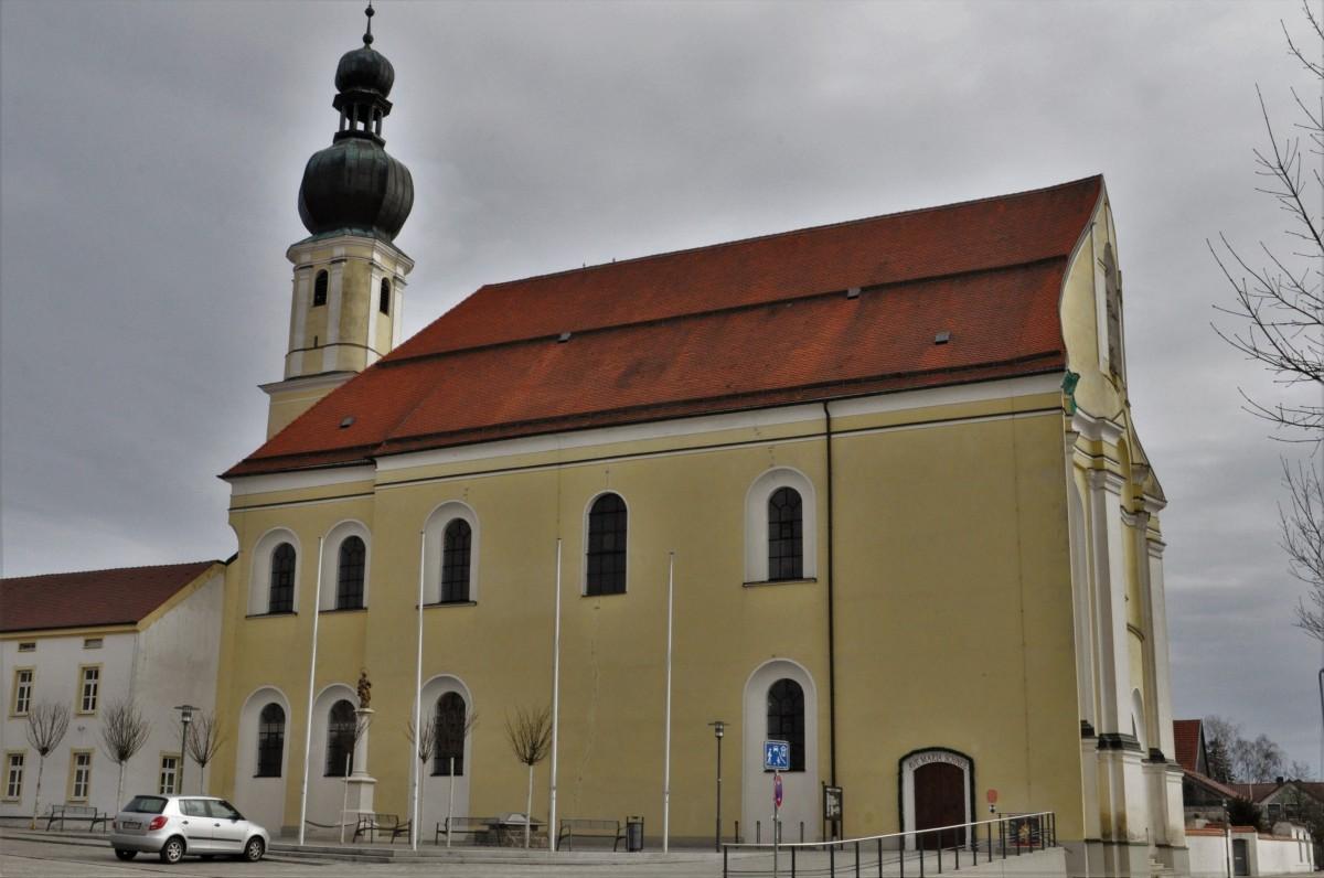 Zdjęcia: Aufhausen, Oberpfaltz, Aufhausen, sanktuarium Matki Bożej Śnieżnej, XVII w., NIEMCY