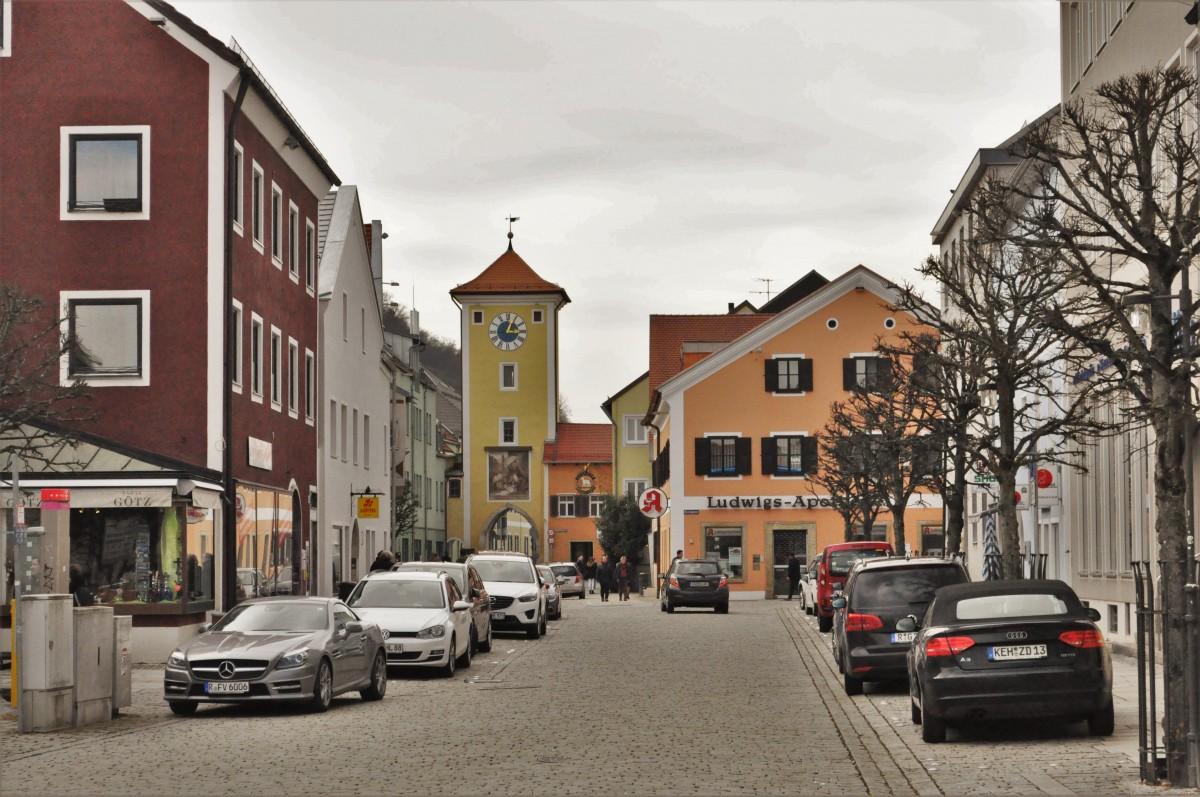 Zdjęcia: Kelheim, Niderbayern , Kelheim, brama miejska XIV w., NIEMCY