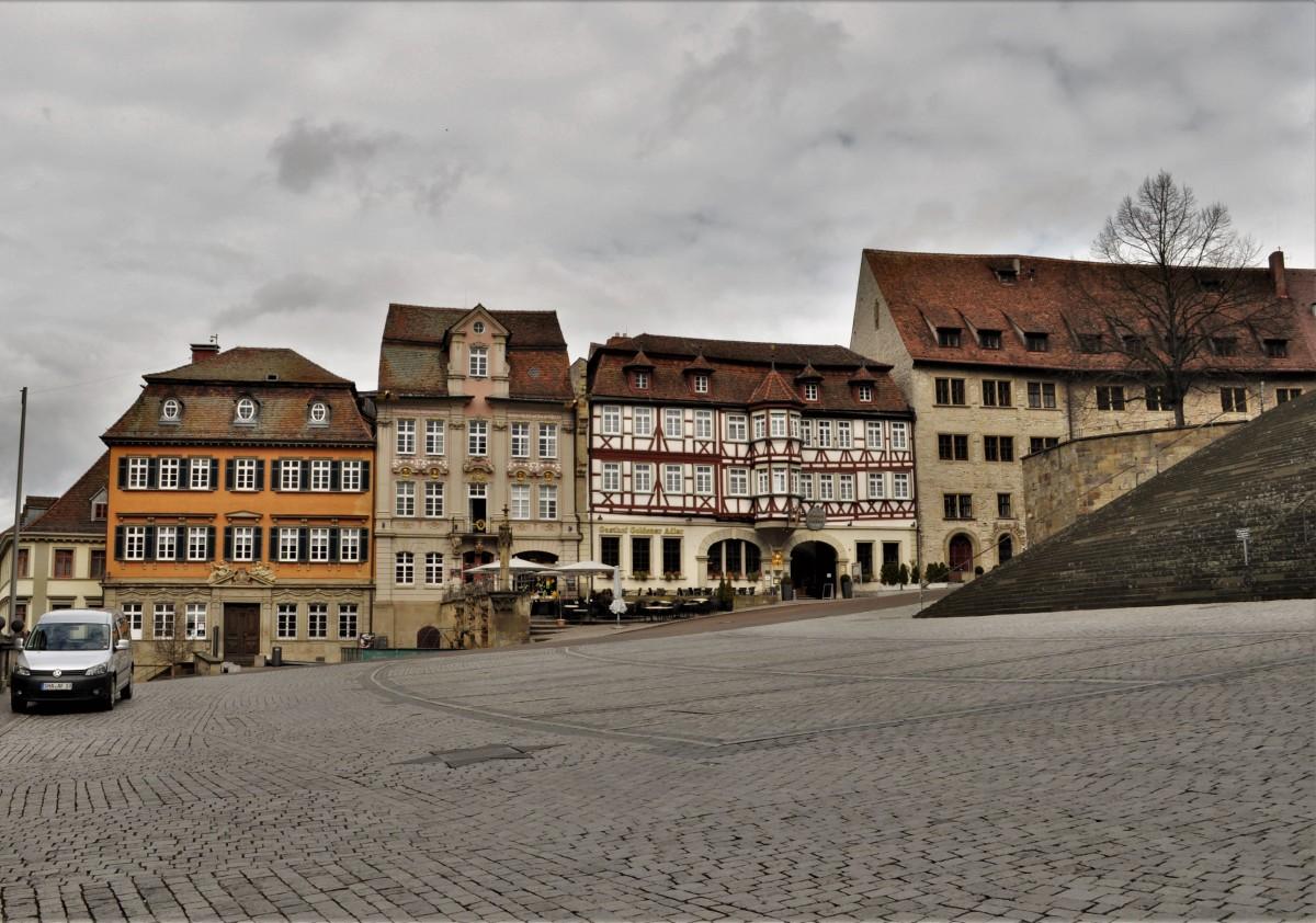 Zdjęcia: Schwabisch Hall, Badenia-Wirtembergia, Schwabisch Hall, stary rynek, koniec, NIEMCY