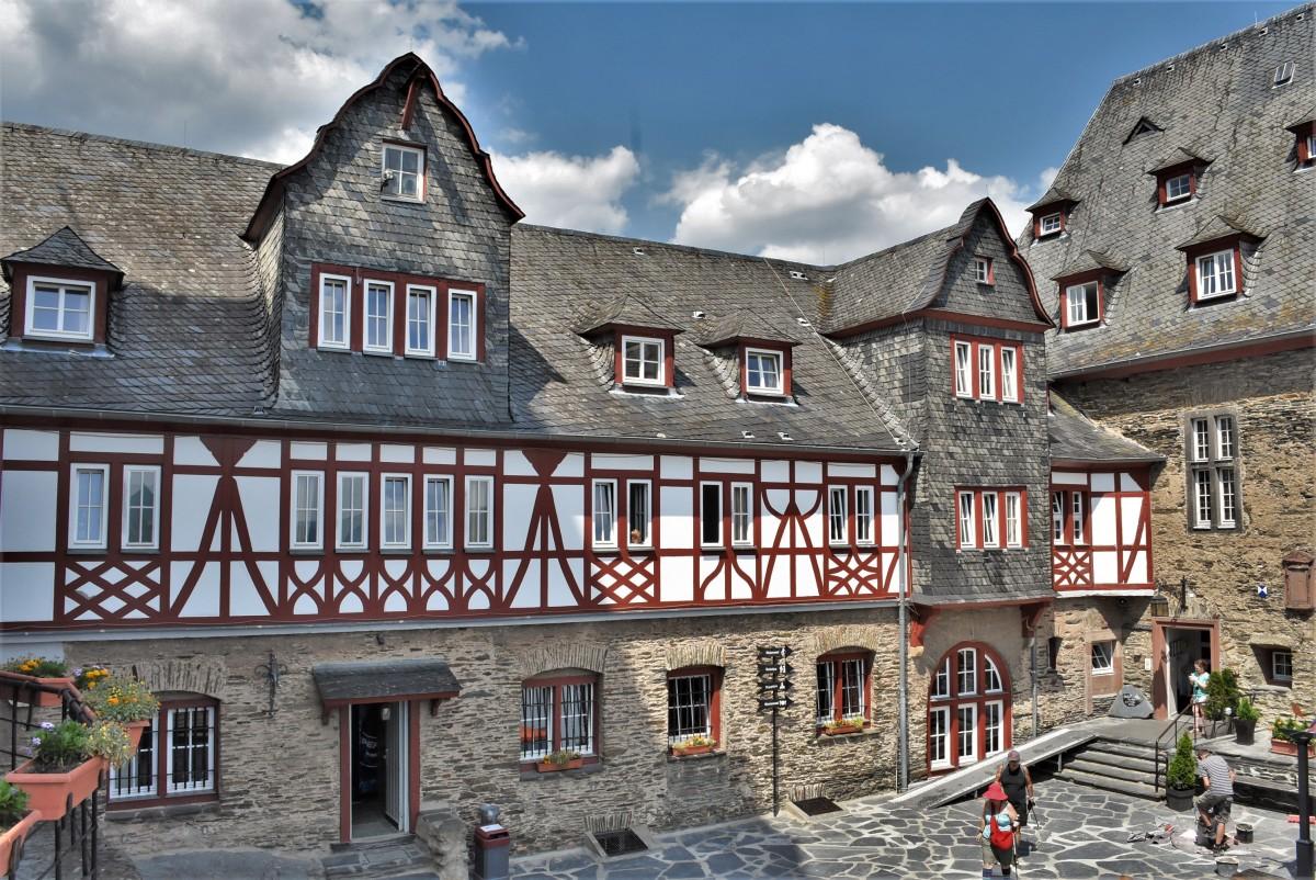 Zdjęcia: Bacharach, Dolina Renu, Bacharach, Burg Stahleck, NIEMCY