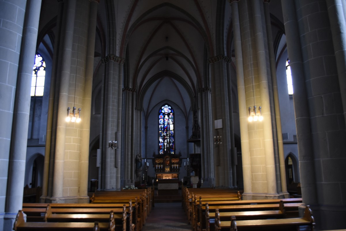 Zdjęcia: Ratingen, Nadrenia Północna-Westfalia, Ratingen, średniowieczny kościół św. Piotra i Pawła., NIEMCY