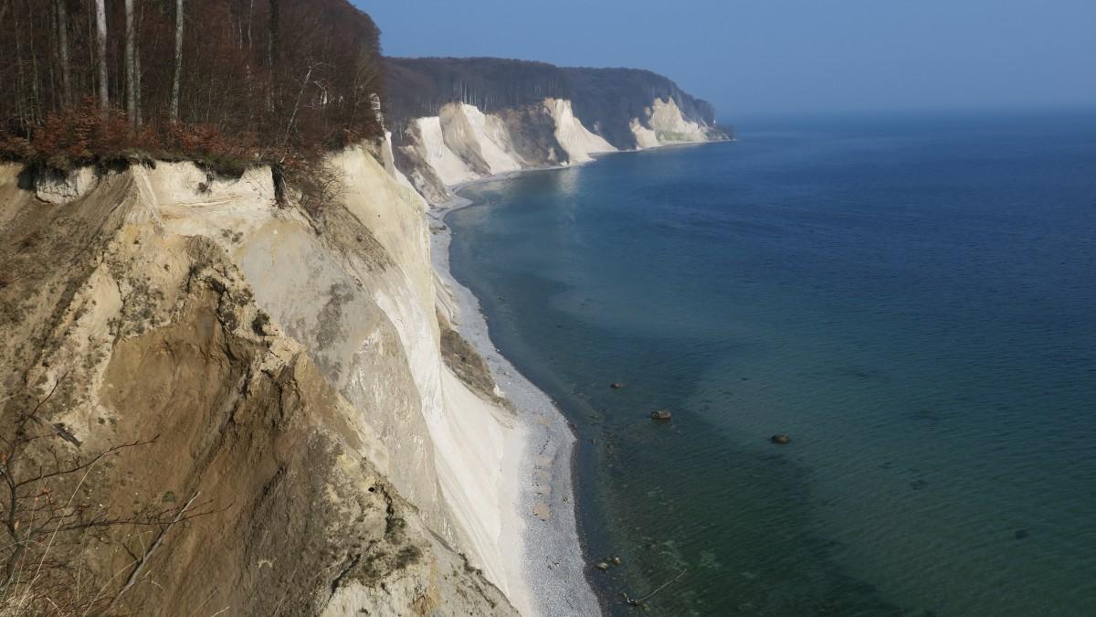 Zdjęcia: Sassnitz , Rugia, białe klify kredowe, NIEMCY