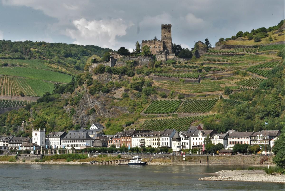 Zdjęcia: Kaub, Dolina Renu, Kaub, miasto i zamek, NIEMCY