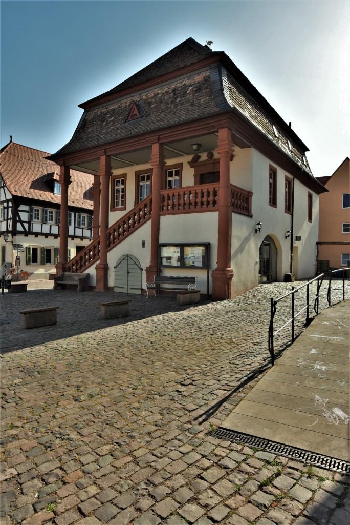 Zdjęcia: Freinsheim, Rein Pfalz, Freinsheim, ratusz, NIEMCY