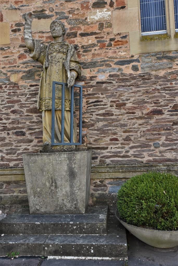 Zdjęcia: Saarburg, Nadrenia Pallatynat, Saarburg, kościół św. Wawrzyńca, NIEMCY