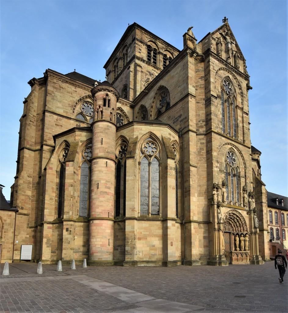 Zdjęcia: Trewir, Nadrenia-Palatynat, Trewir, Kościół Najświętszej Marii Panny, NIEMCY