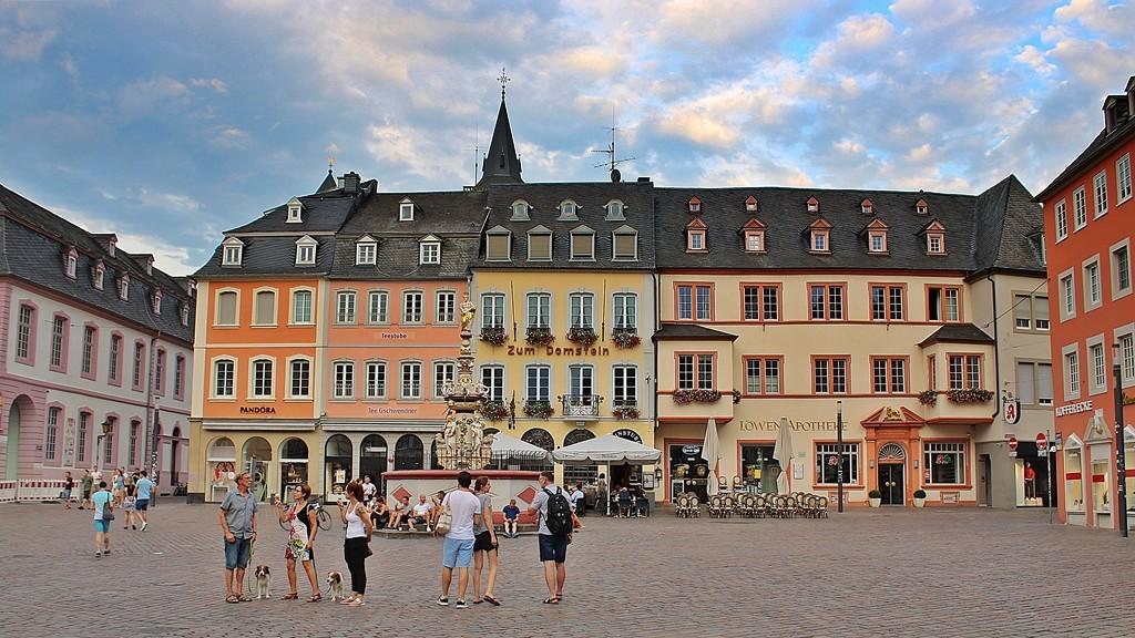 Zdjęcia: Trier, Nadrenia-Palatynat, Wieczorne pogaduszki, NIEMCY