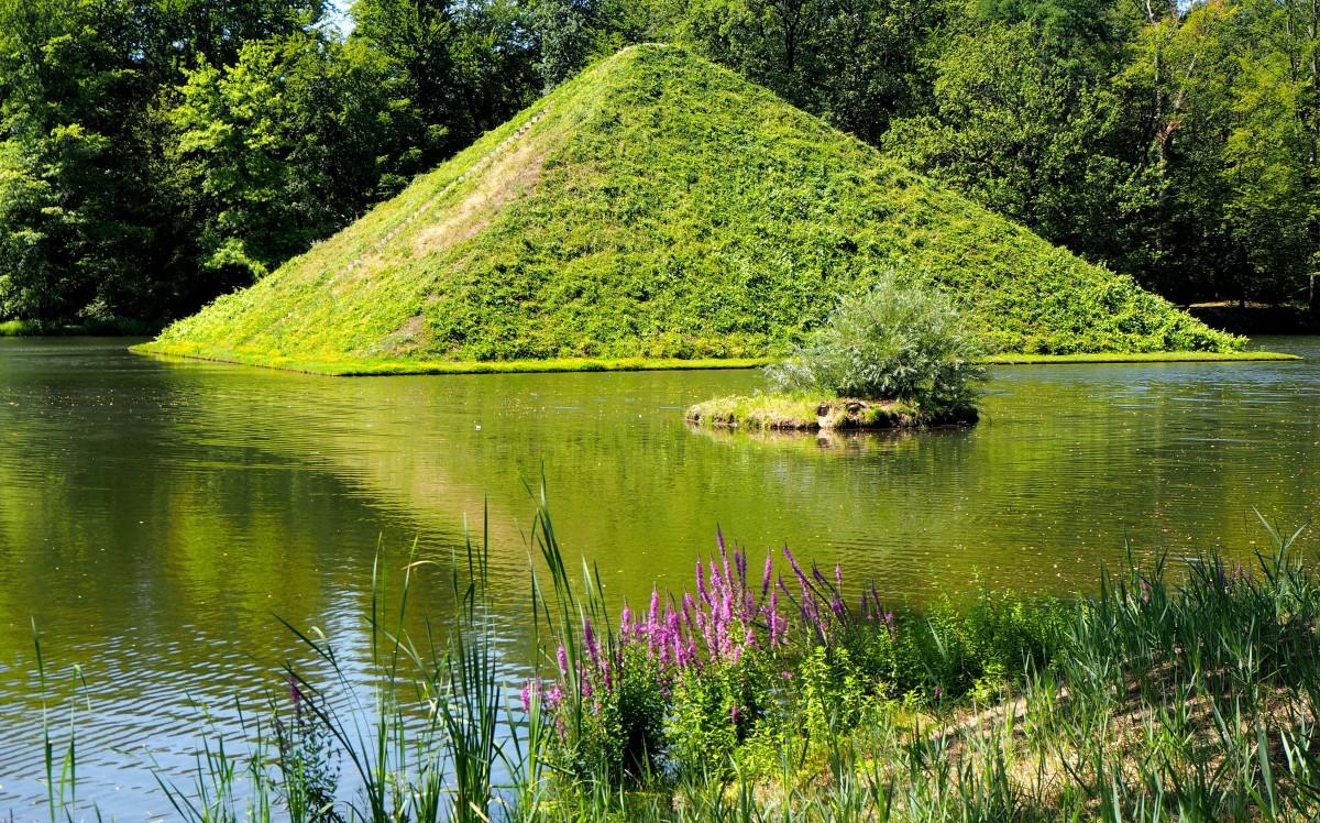 Zdjęcia: Park Krajobrazowy w Branitz, Brandenburgia, z tęsknoty za Egiptem..., NIEMCY