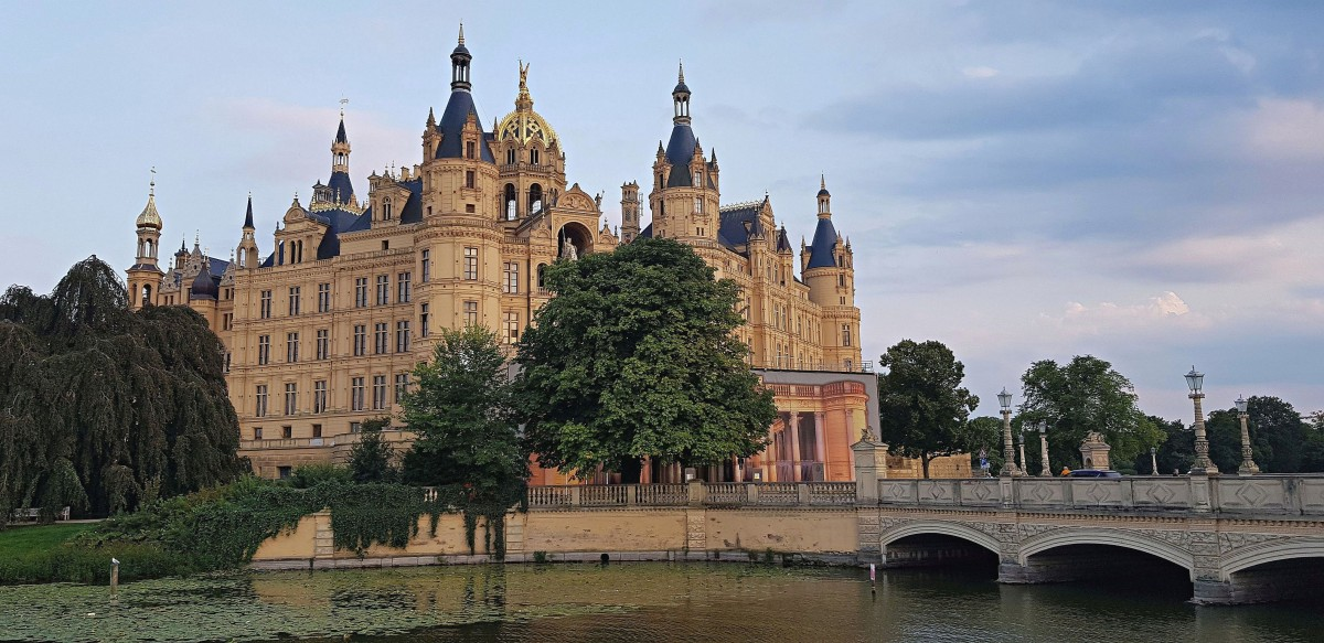 Zdjęcia: Miasto Schwerin, Północne Niemcy, Zamek w Schwerin, NIEMCY