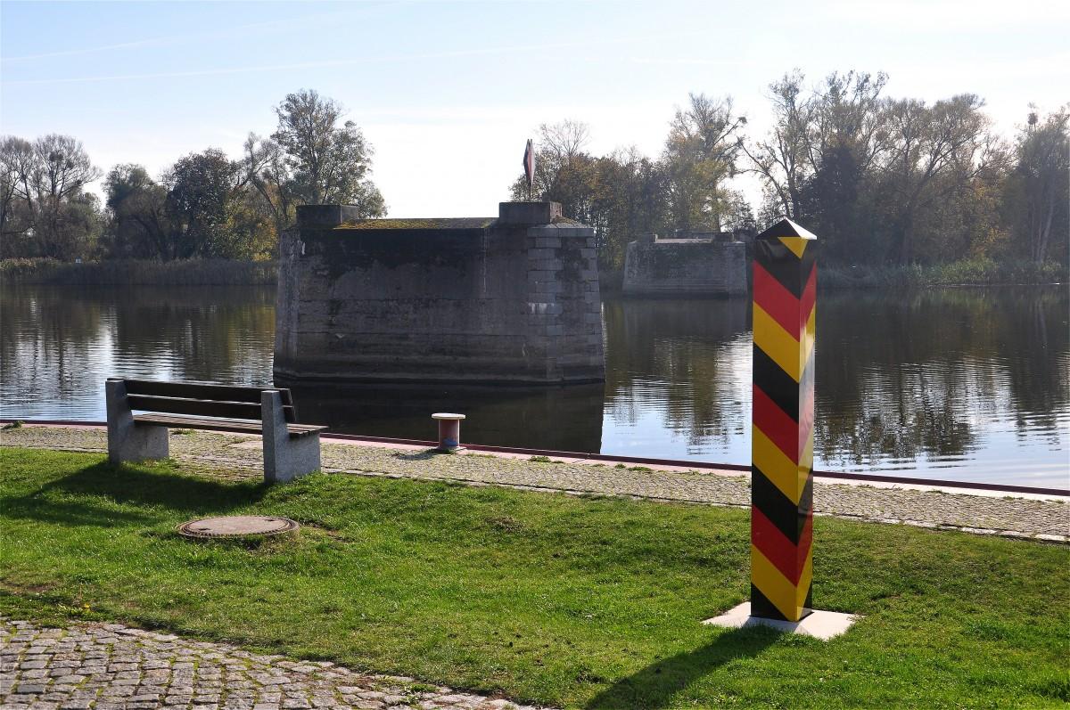 Zdjęcia: Gartz (Oder), Brandenburgia, Był sobie most..., NIEMCY