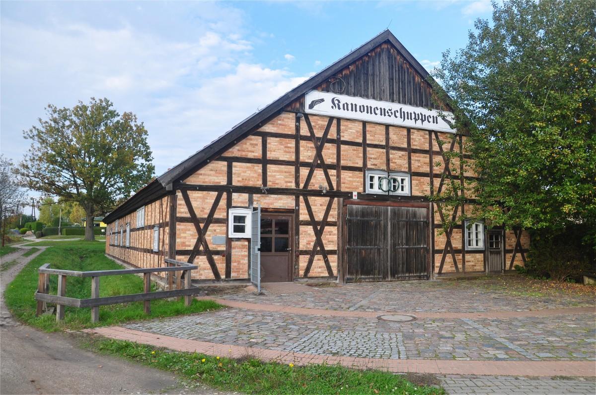 Zdjęcia: Gartz (Oder), Brandenburgia, Architektura w Gartz (Oder), NIEMCY