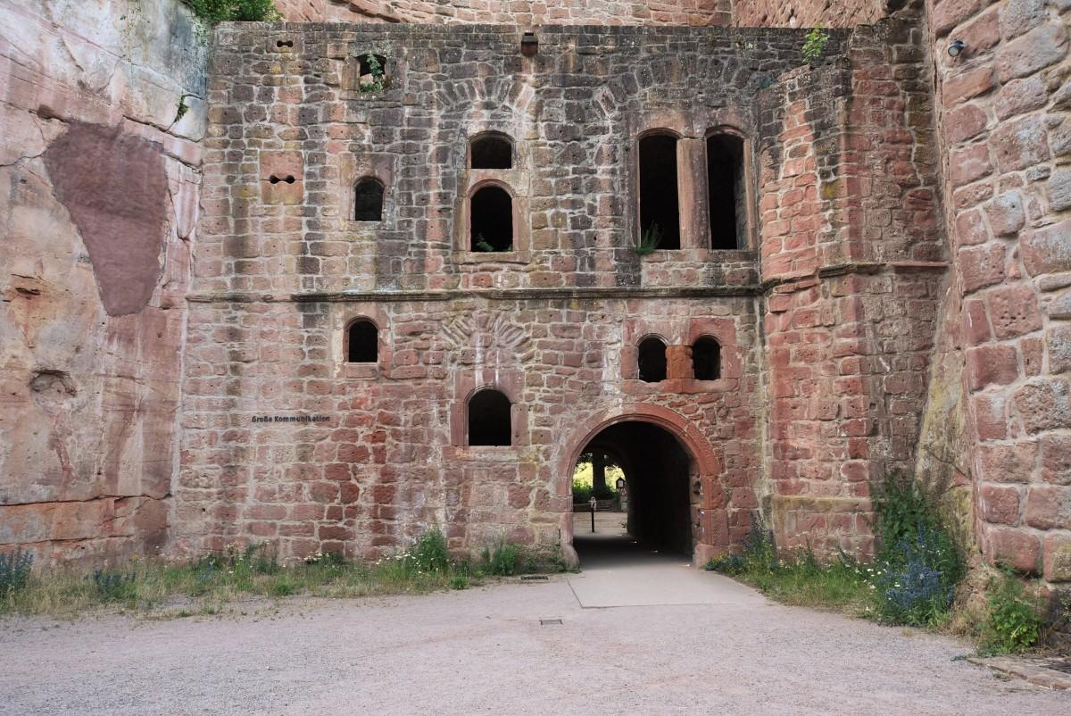 Zdjęcia: Hardenburg, Nadrenia Pallatynat, Hardenburg, zamek, NIEMCY