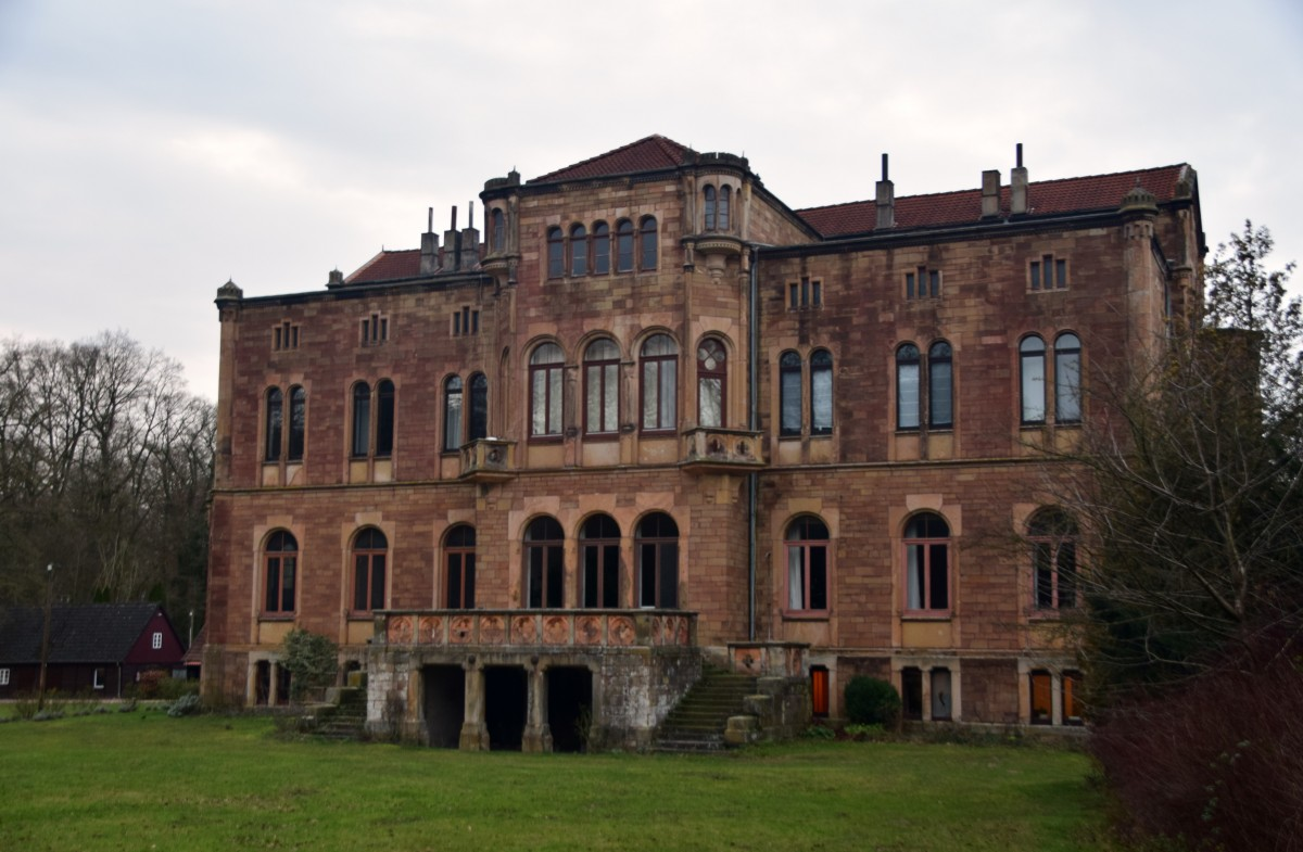 Zdjęcia: Kalkriese, Dolna Saksonia, Pałac Neue Barenaue, NIEMCY