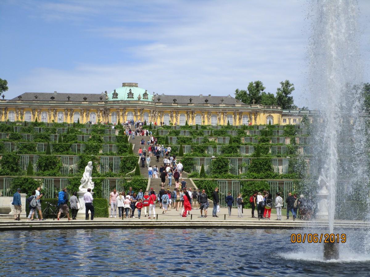 Zdjęcia: Potsdam, Park Sansoucci, NIEMCY