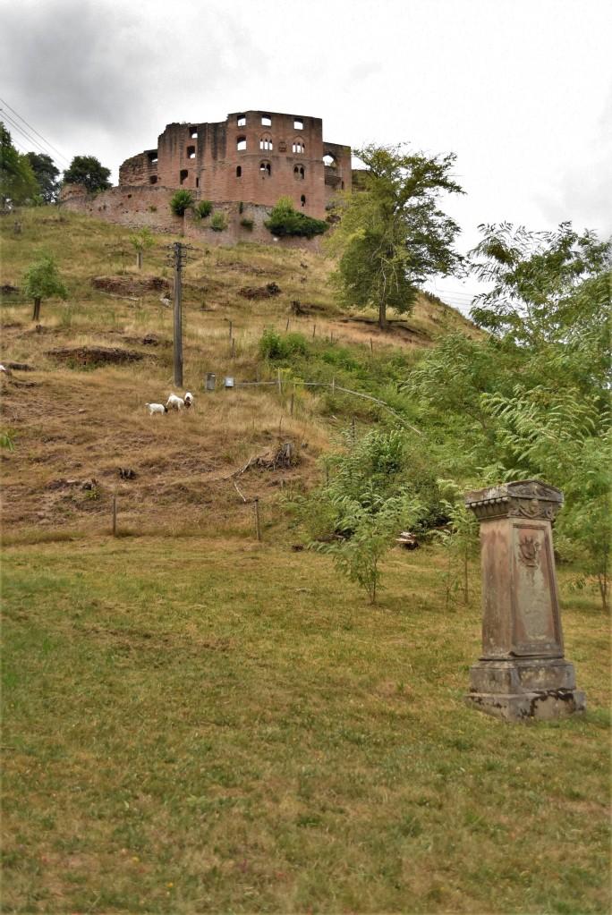 Zdjęcia: Frankenstein, Nadrenia Pallatynat, Frankenstein, zamek, NIEMCY