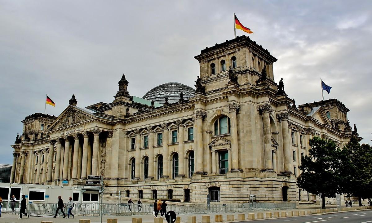 Zdjęcia: Berlin, Berlin, Budynek Reichstagu z 1894 roku, NIEMCY