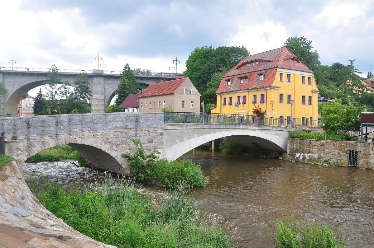 Zdjęcia: Bautzen, Saksonia, Mosty w Bautzen, NIEMCY