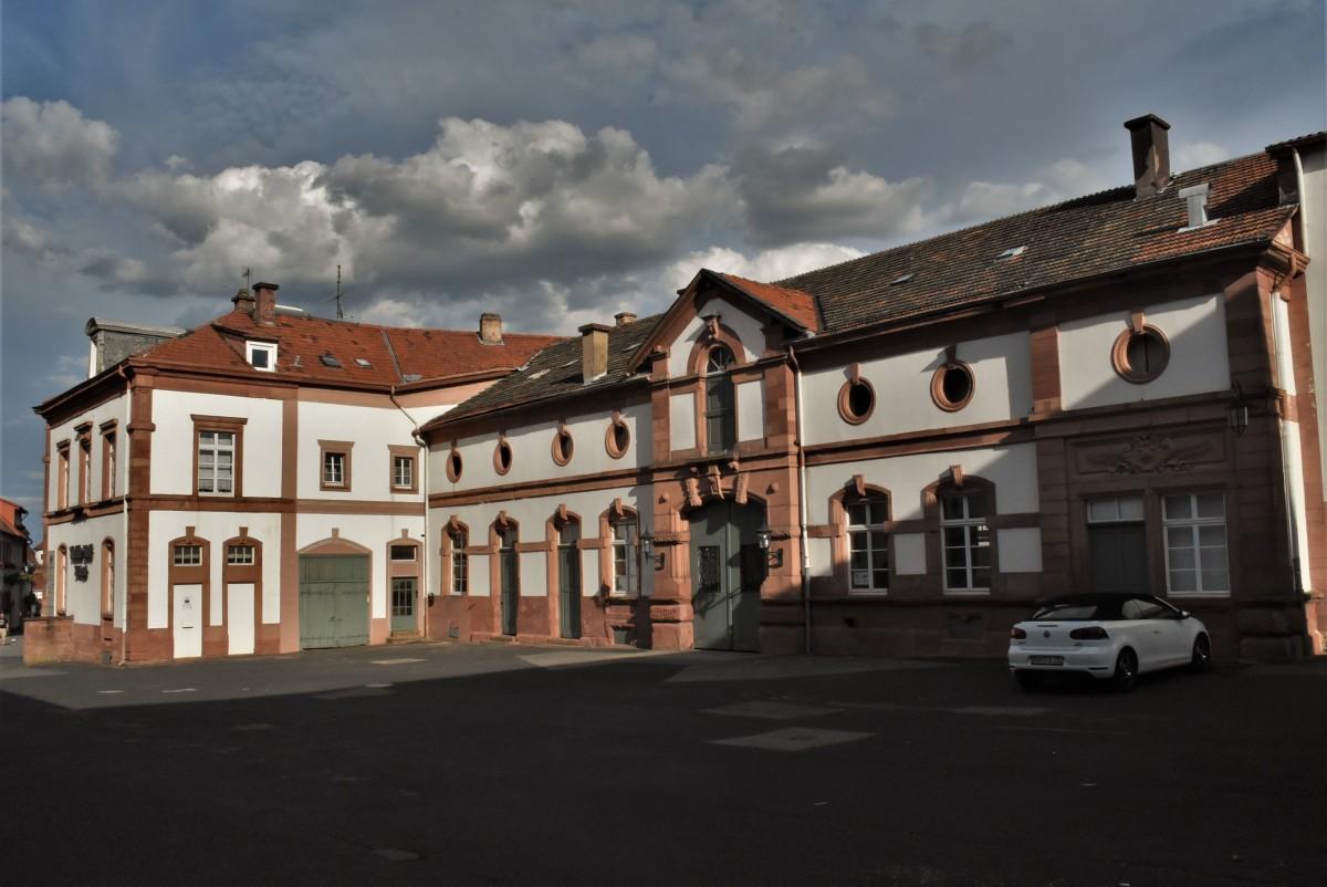 Zdjęcia: Wachenheim, Nadrenia Pallatynat, Wachenheim, pałac, NIEMCY
