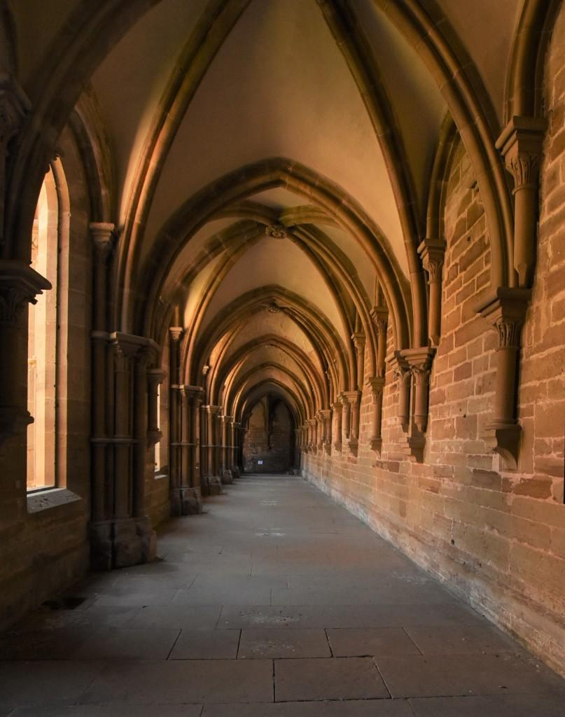 Zdjęcia: Maulbronn, Badenia Witenbergia, Maulbronn, klasztor, Krużganki, NIEMCY