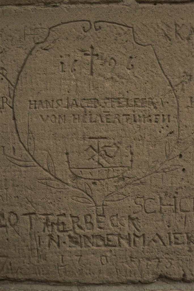 Zdjęcia: Maulbronn, Badenia Witenbergia, Maulbronn, klasztor, prawdopodobnie znaki murarskie, NIEMCY
