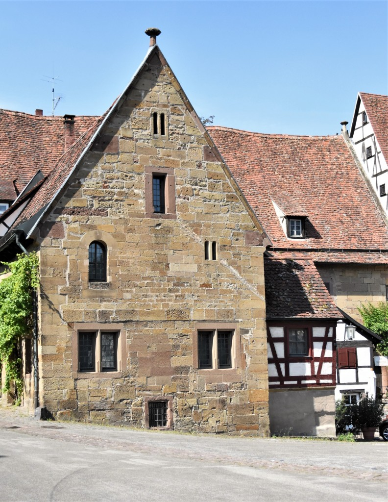 Zdjęcia: Maulbronn, Badenia Witenbergia, Maulbronn, plac klasztorny, NIEMCY