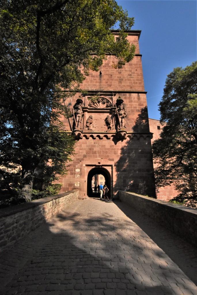 Zdjęcia: Heidelberg, Badenia Witenbergia, Heidelberg, zamek, NIEMCY
