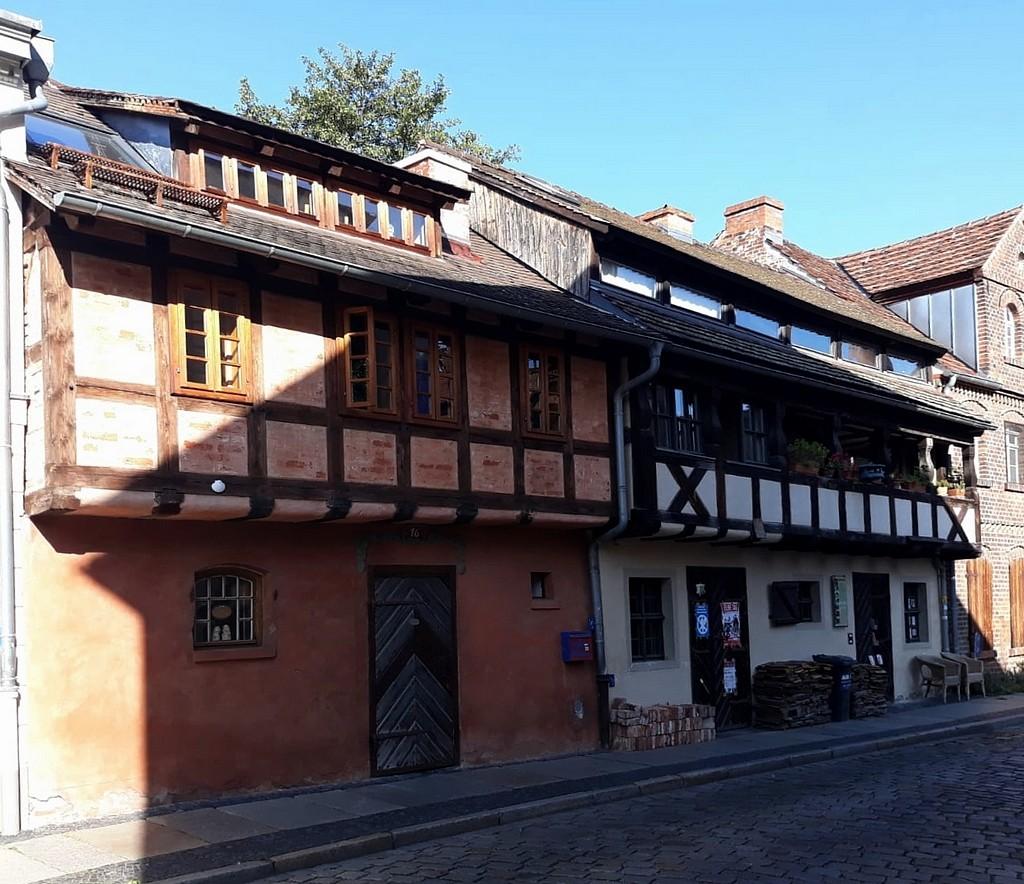 Zdjęcia: Cottbus,  Brandenburgia , Takie domy jeszcze istnieją., NIEMCY