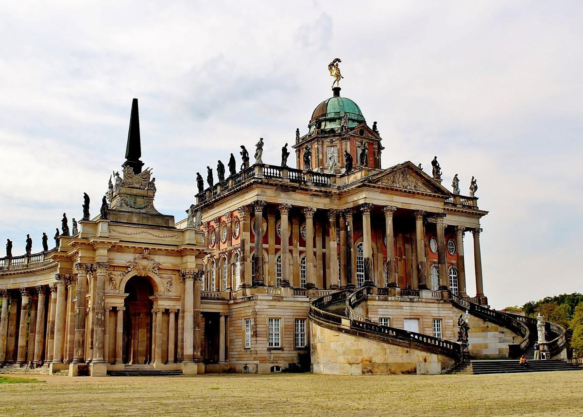 Zdjęcia: Poczdam, Brandenburgia, Uniwersytet Poczdamski w budynkach z XVIII wieku, NIEMCY