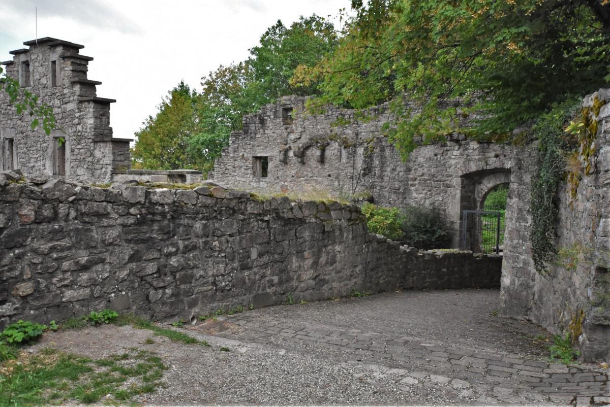 Zdjęcia: Baden Baden, Badenia Witenbergia, Zamek Hohenbaden, NIEMCY
