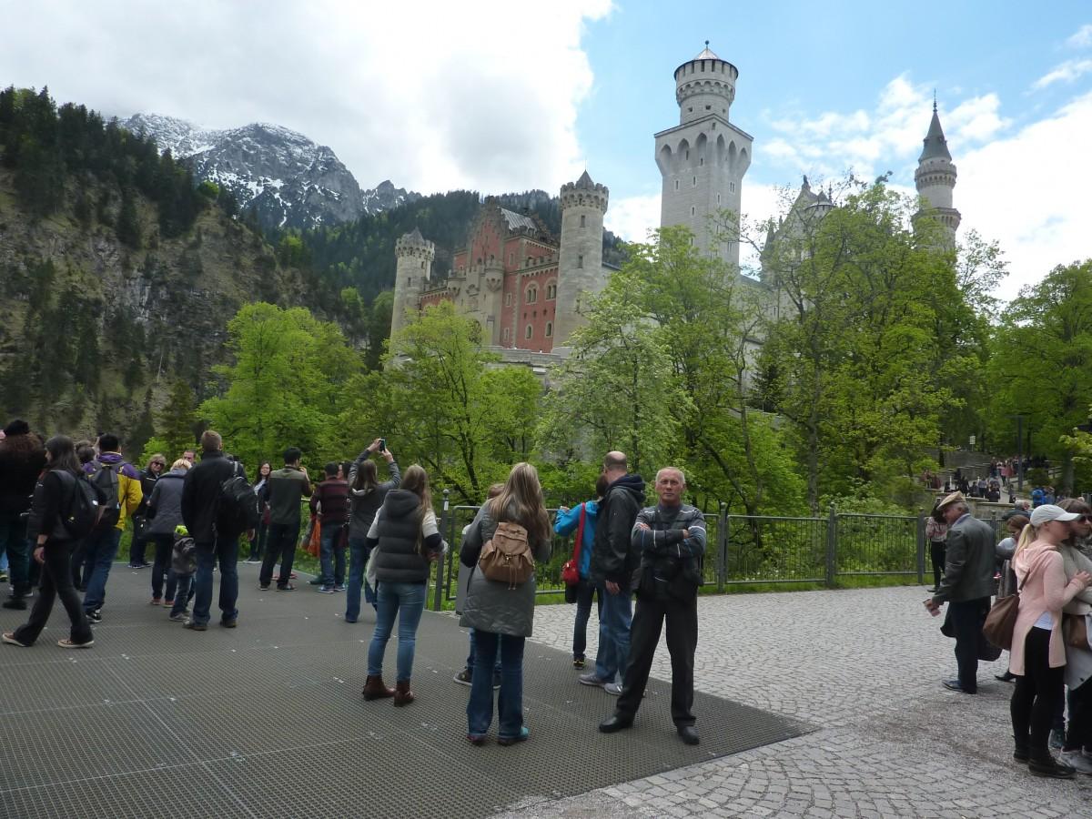 Zdjęcia: Schwangau, Poludniowa Bawaria, Bajkowy zamek Ludwika II Bawarskiego, NIEMCY