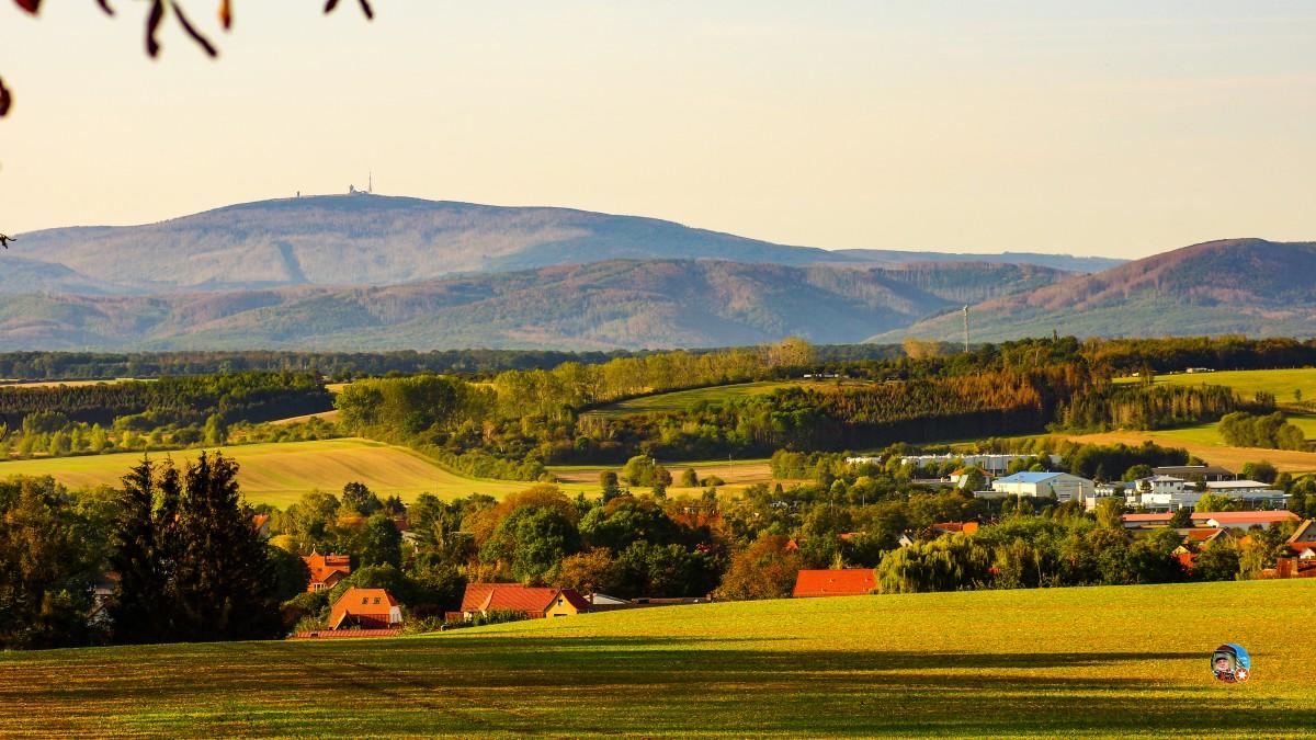 Zdjęcia: Osterwieck, Gory Harz, Panorama, NIEMCY