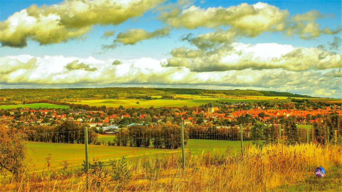 Zdjęcia: Osterwieck, saksonia, Panorama, NIEMCY