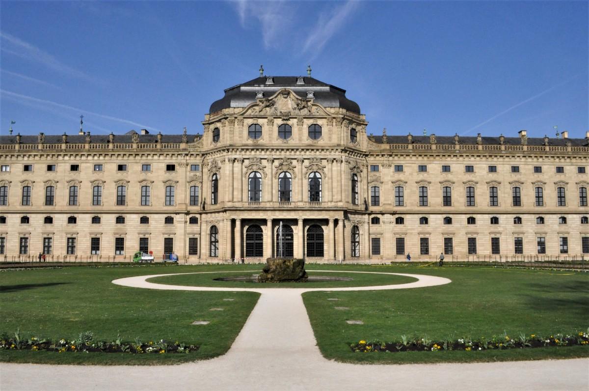 Zdjęcia: Wurzburg, Frankonia, Wurzburg, rezydencja, NIEMCY