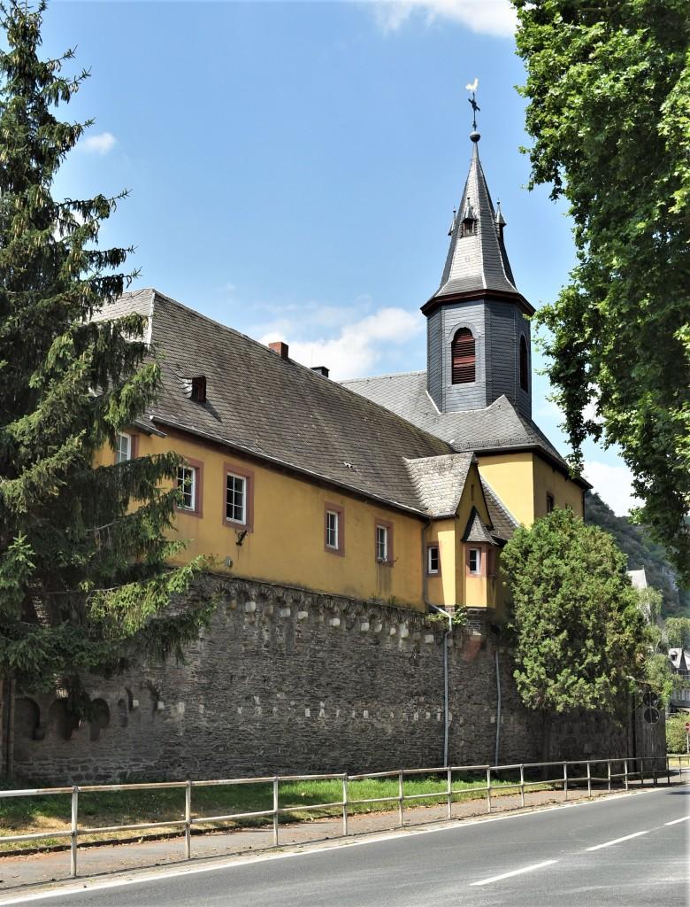 Zdjęcia: Lorch, Dolina Renu, Bacharach, Katholische Pfarrkirche St. Nikolaus, NIEMCY