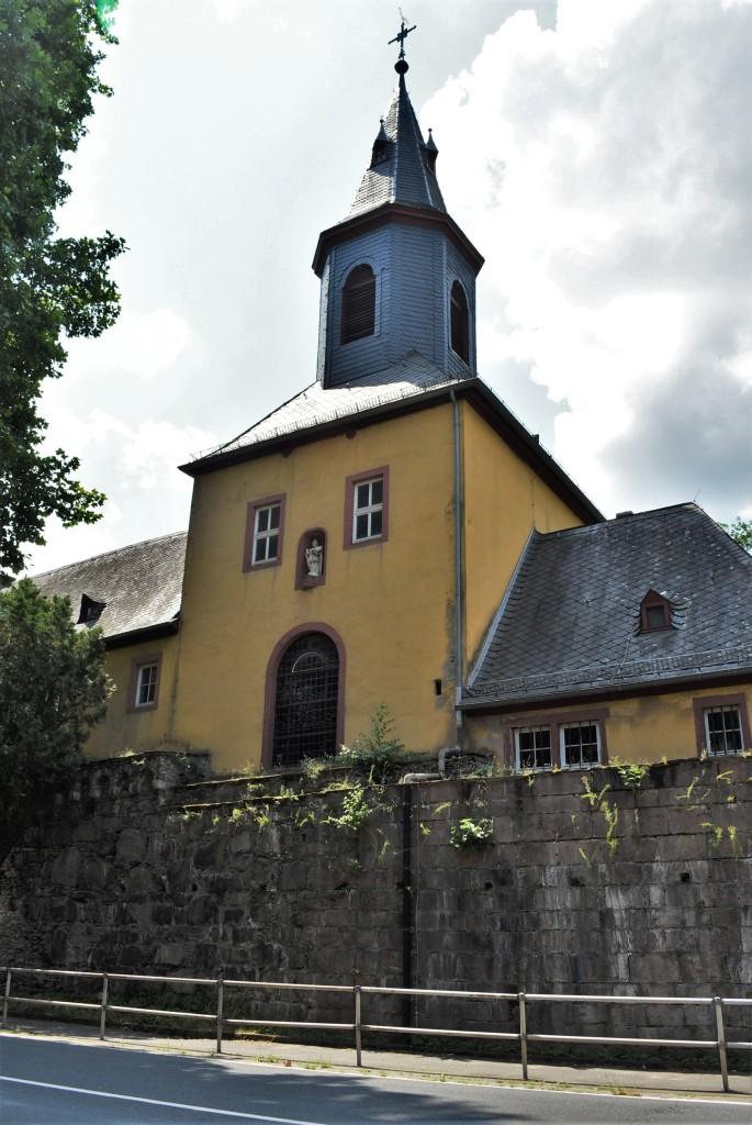 Zdjęcia: Reichenstein, Dolina Renu, Bacharach, Katholische Pfarrkirche St. Nikolaus, NIEMCY