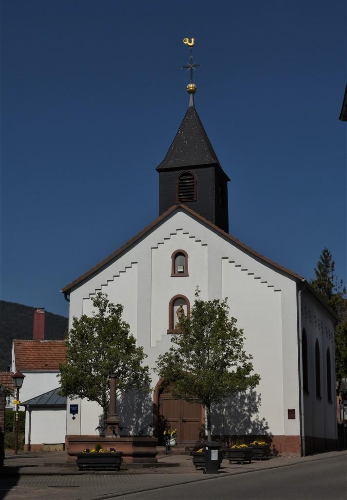 Zdjęcia: Maikammer, Nadrenia Pallatynat, Maikammer, kościół, NIEMCY