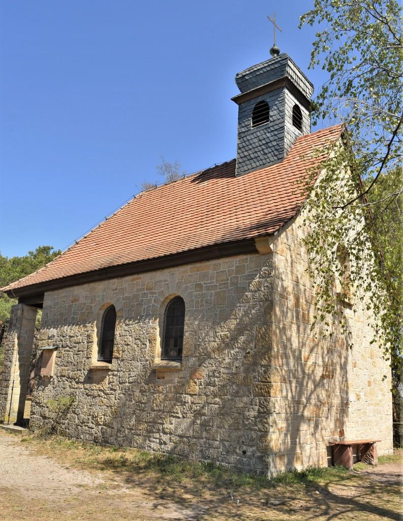 Zdjęcia: Maikammer, Nadrenia Pallatynat, Maikammer, kaplica na górze , NIEMCY