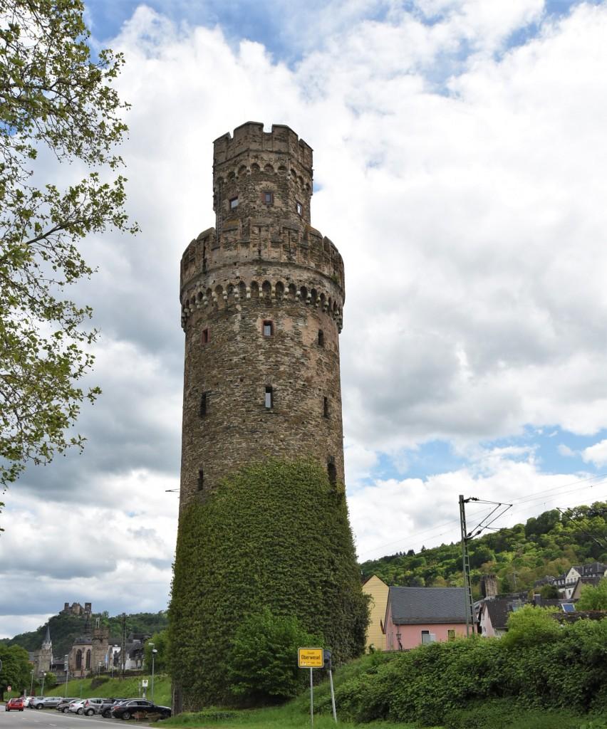 Zdjęcia: Oberwesel, Nadrenia Pallatynat, Oberwesel, baszta, NIEMCY