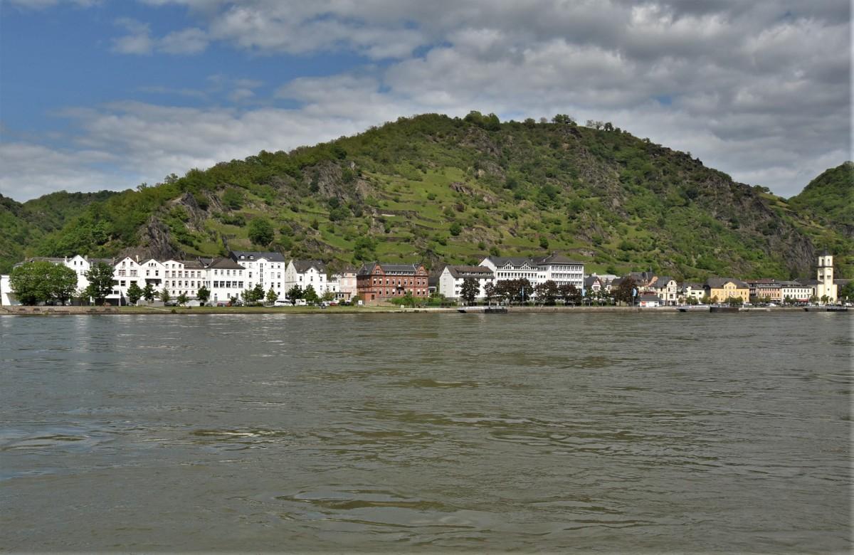 Zdjęcia: Sankt Goarshausen, Nadrenia Pallatynat, Sankt Goarshausen, NIEMCY