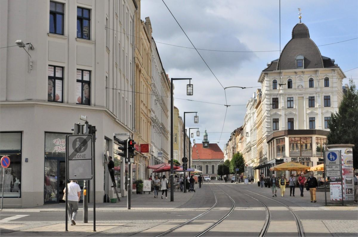 Zdjęcia: Gorlitz, Saksonia, Gorlitz, zakamarki, w kierunku dworca, NIEMCY