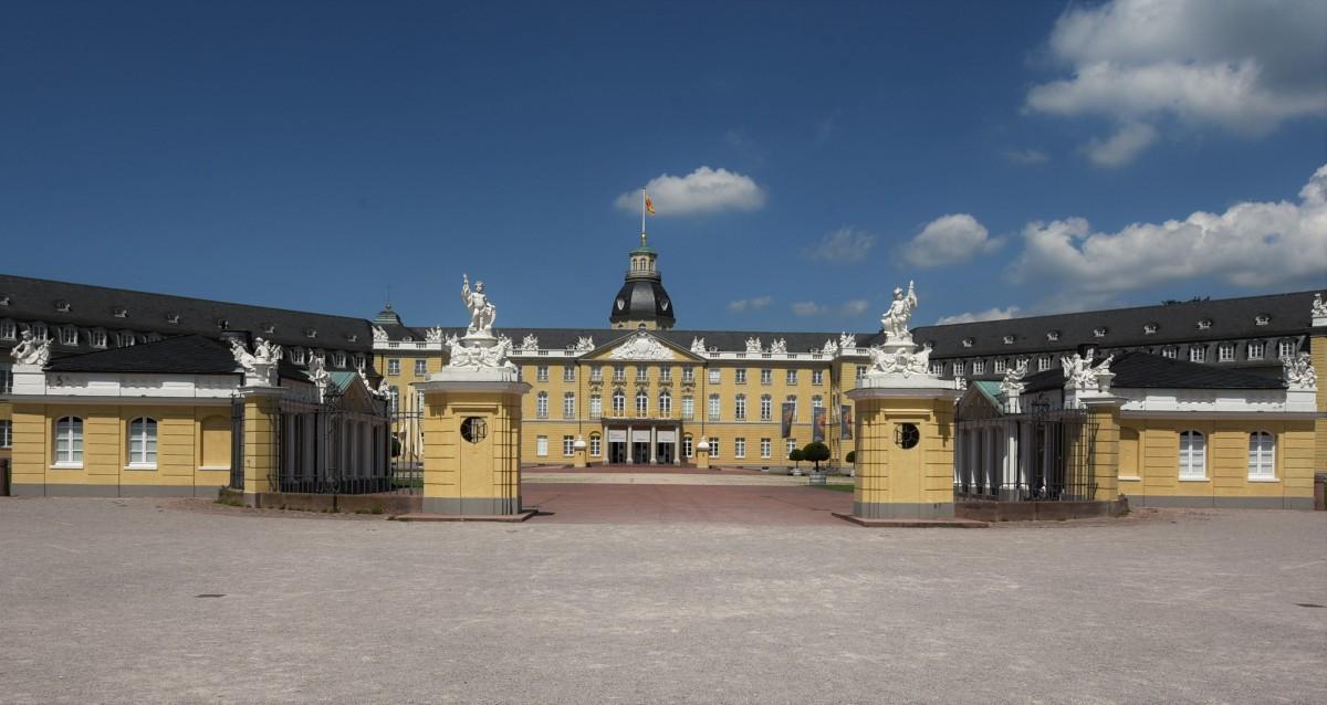 Zdjęcia: Bruchsal, Badenia Witenbergia, Karlsruhe, pałac, NIEMCY
