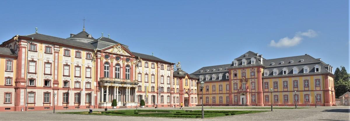 Zdjęcia: Bruchsal, Badenia Witenbergia, Bruchsal, pałac, NIEMCY