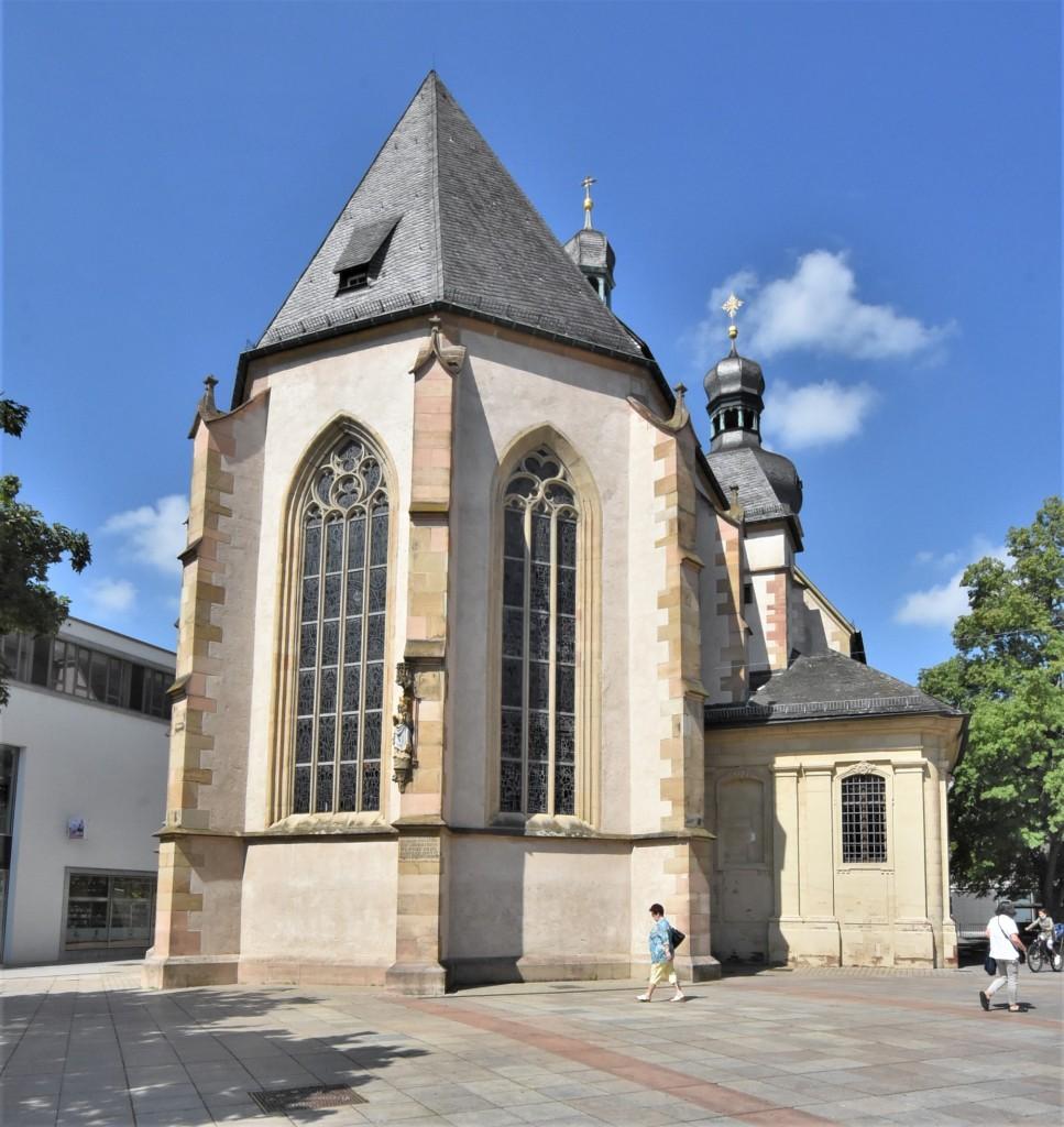 Zdjęcia: Bruchsal, Badenia Witenbergia, Bruchsal, Stadtkirche, NIEMCY