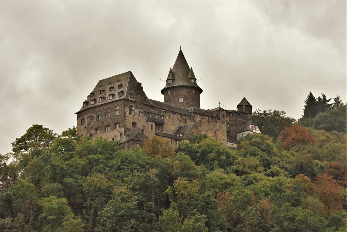 Zdjęcia: Bacharach, Dolina Renu, Bacharach, zamek, NIEMCY