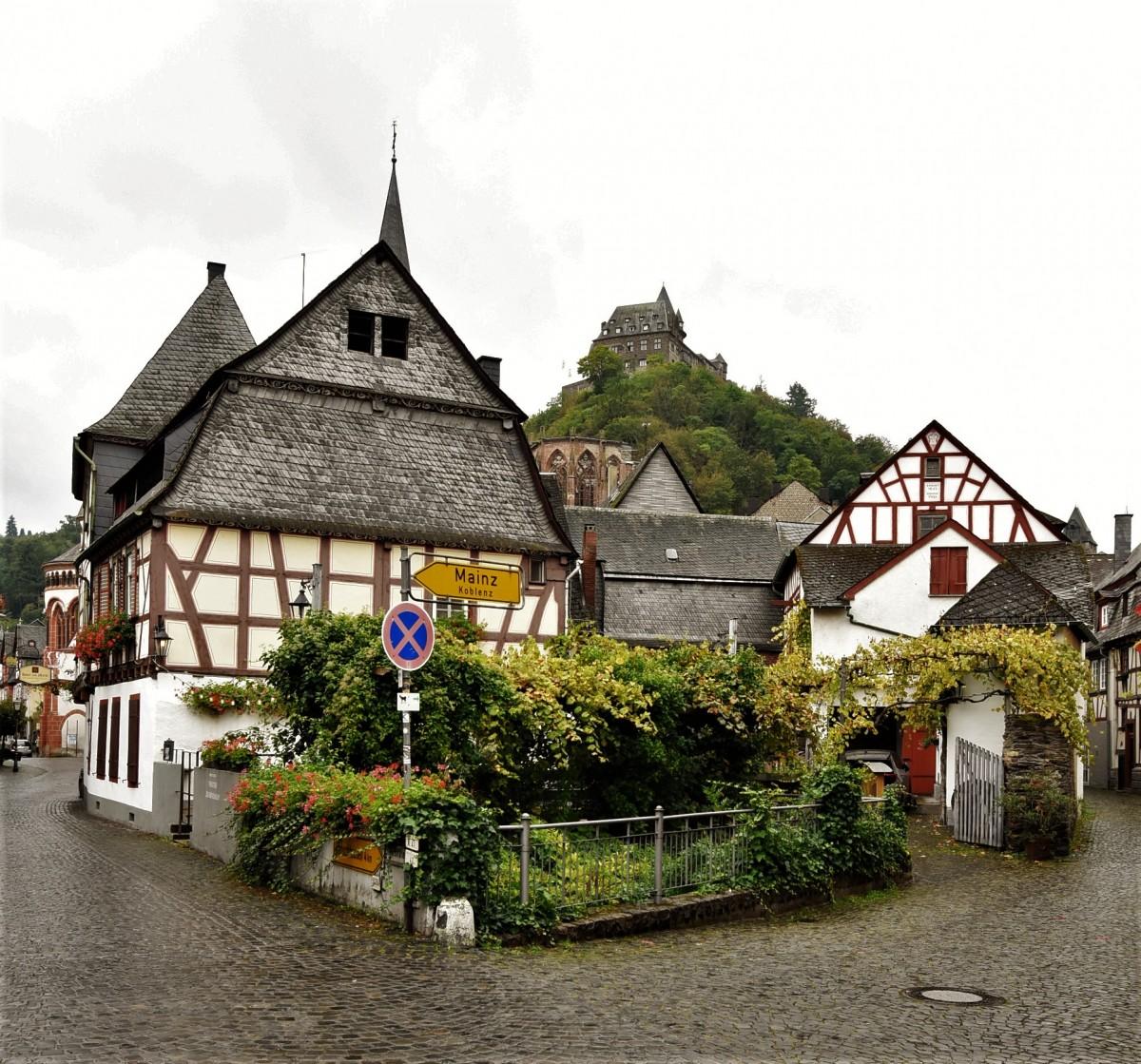 Zdjęcia: Bacharach, Dolina Renu, Bacharach, zakamarki, NIEMCY