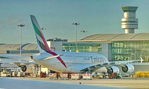 Zdjęcie NIEMCY / Hessen / Frankfurt / Superjumbo od Airbusa