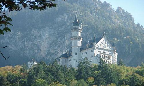 NIEMCY / Bawaria / Shwarzwald / zamek neuschwanstein