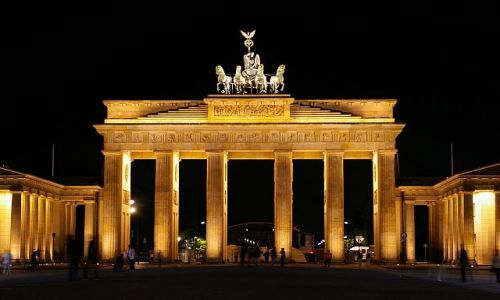 Zdjecie NIEMCY / Berlin / Berlin / brama brandenbu