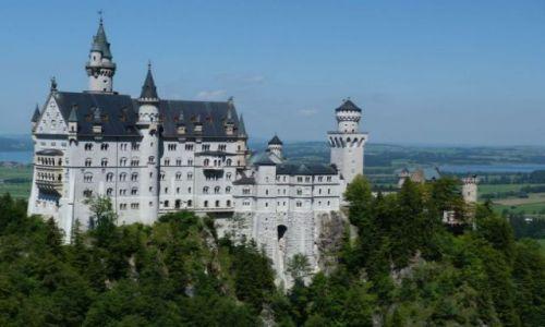 Zdjecie NIEMCY / Bawaria / Alpy Bawarsko-Tyrolskie / Bawarskie zamki